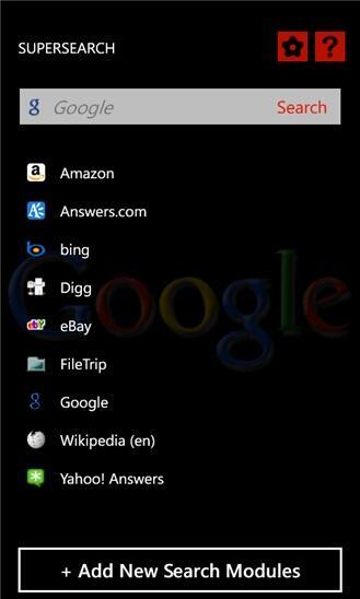 app microsoft suche Windows Phone