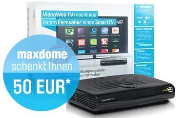 maxdome TV videoweb