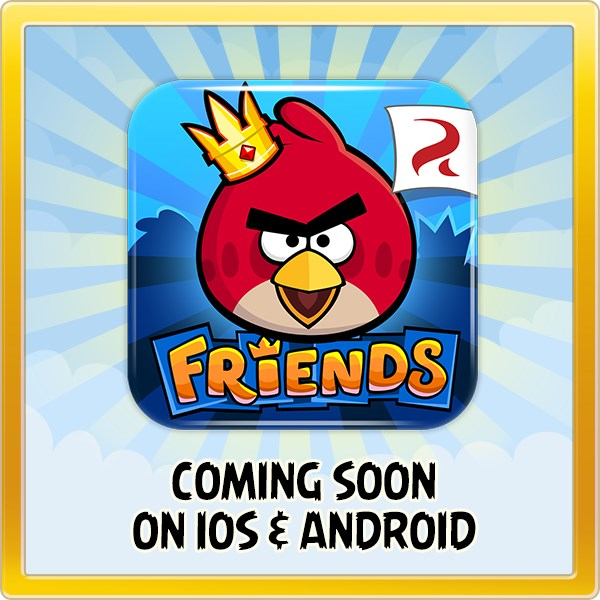 Android Angry Birds facebook friends iOS iphone