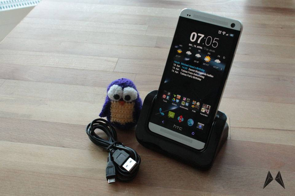 Android Dock HTC One Ladestation