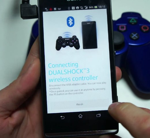 Android controller playstation Sony