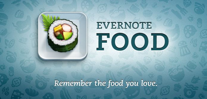 Android evernote food Update