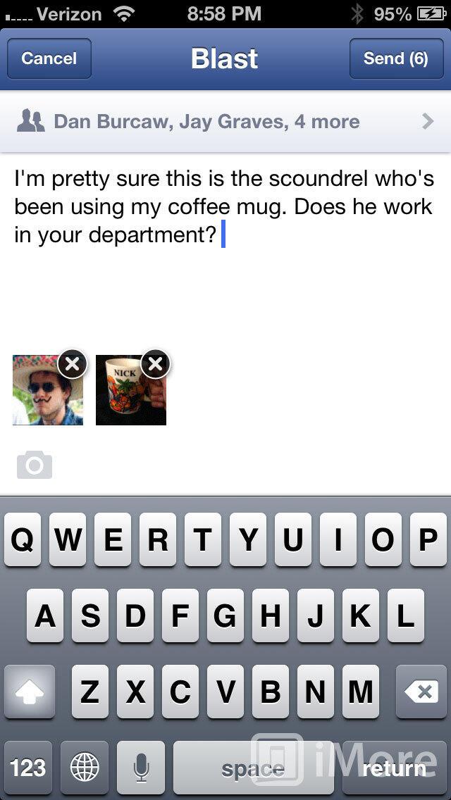 Android facebook iOS Messaging Messenger Nachrichten social