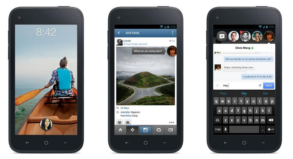 1 Android facebook home