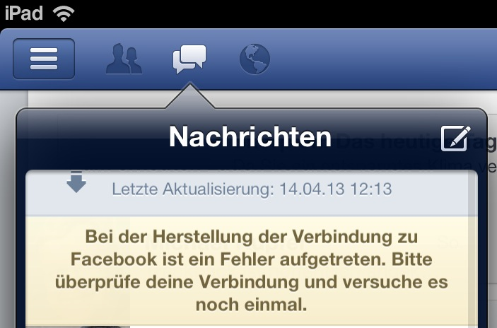 dienstes facebook fail ocial