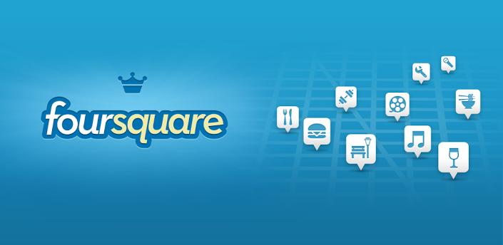 Android foursquare iOS werbung