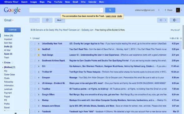 fun Gmail