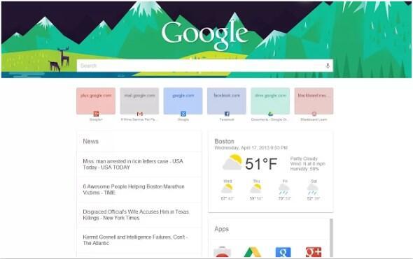 chrome Google Google Now now search suche