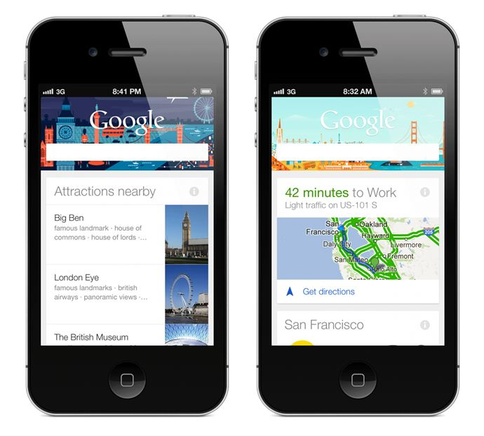 Apple Google iOS iPad iphone now