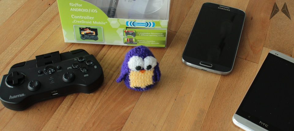 Android Bluetooth controller hama iOS