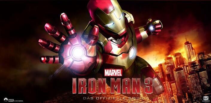 Android film gameloft iOS iron man 3 Spiel