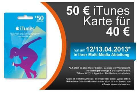 Apple iOS iPad iphone itunes Müller