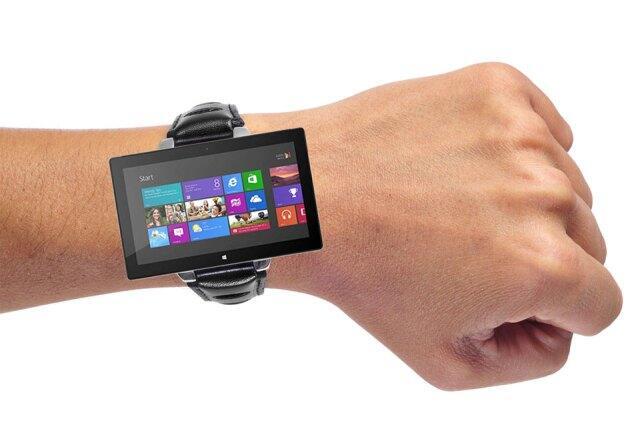 microsoft smartwatch Uhr Windows Phone