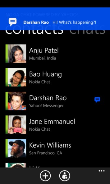 chat Messenger Nokia Windows Phone