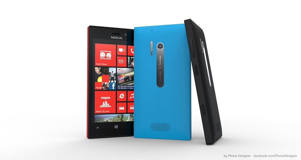 lumia 928 mockup Nokia Windows Phone