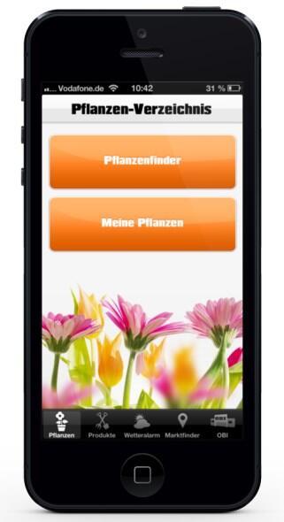 Android app garten iOS obi