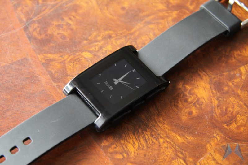 Android iOS iphone Pebble review test