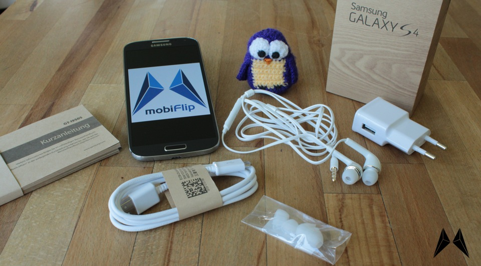 Android Galaxy S4 Samsung Unboxing