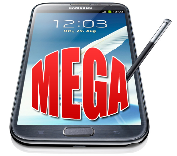 Android mega Samsung spezifikationen