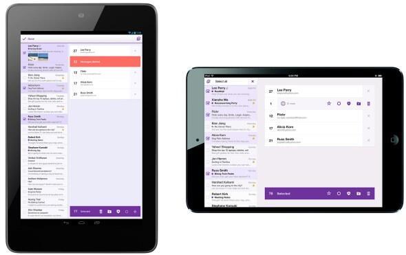Android Apple iOS tablet Yahoo!