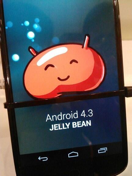 4.3 Android Google Leak nexus 4