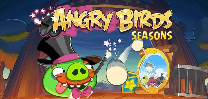 Android Angry Birds iOS rovio seasons Update