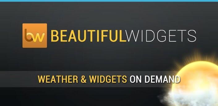 Android Beautiful Widgets google play Kostenlos
