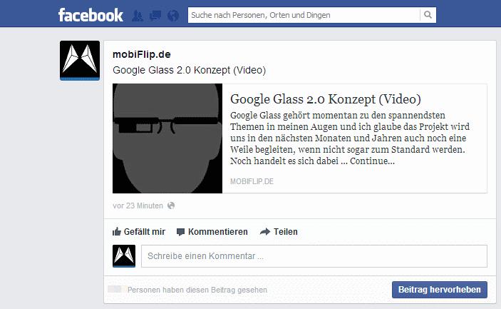 facebook layout social