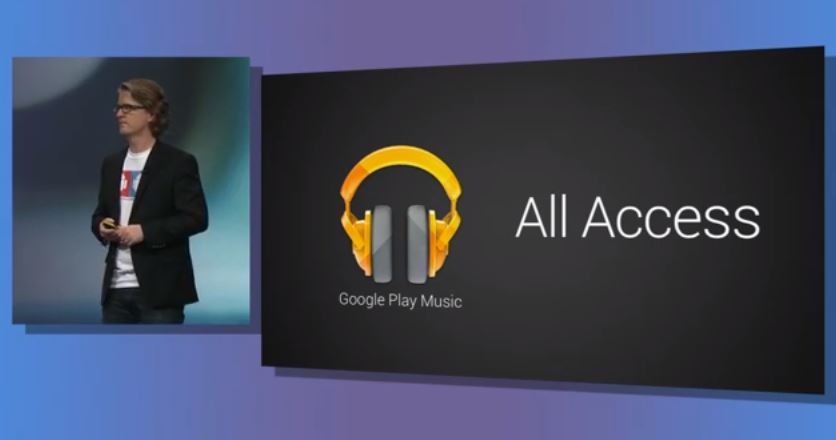 all access Android Google Musik play streaming