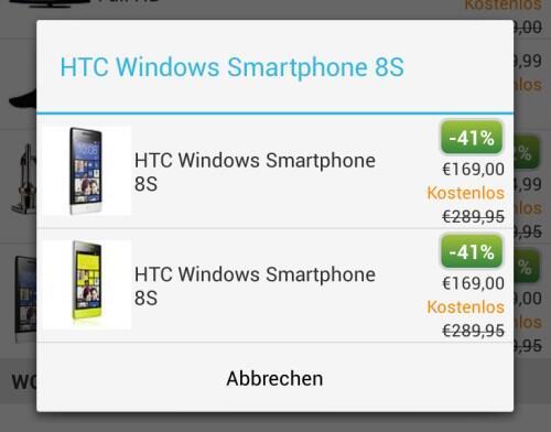 deal ebay HTC Windows Phone