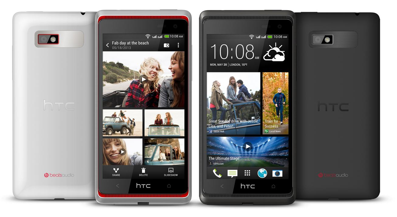 Android desire 600 HTC one