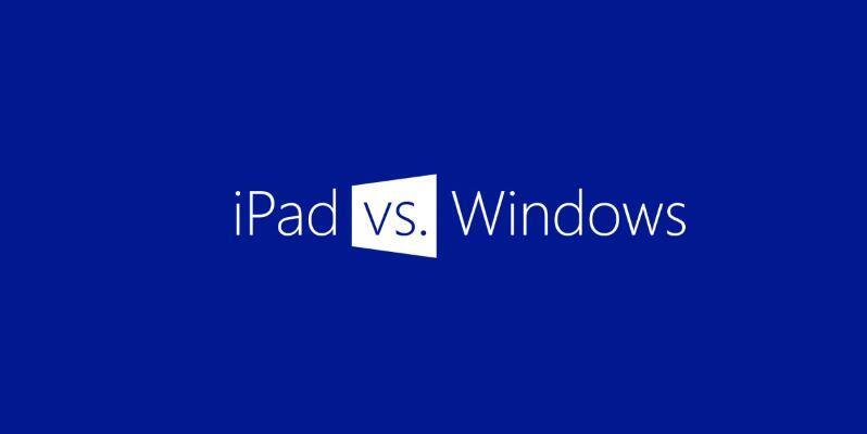 Apple iOS iPad microsoft werbung Windows