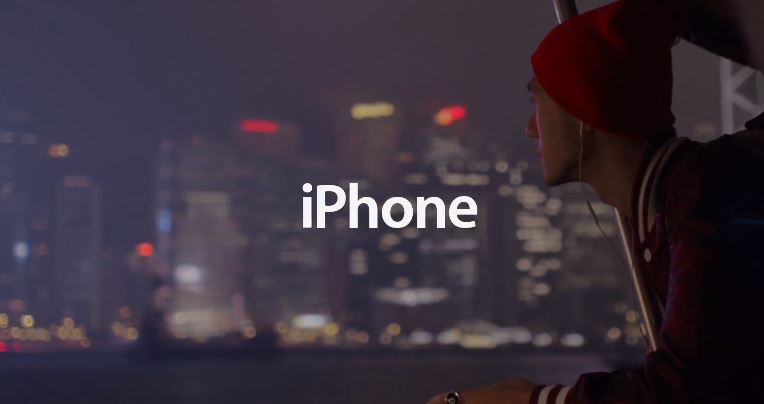 Apple iOS iphone werbung