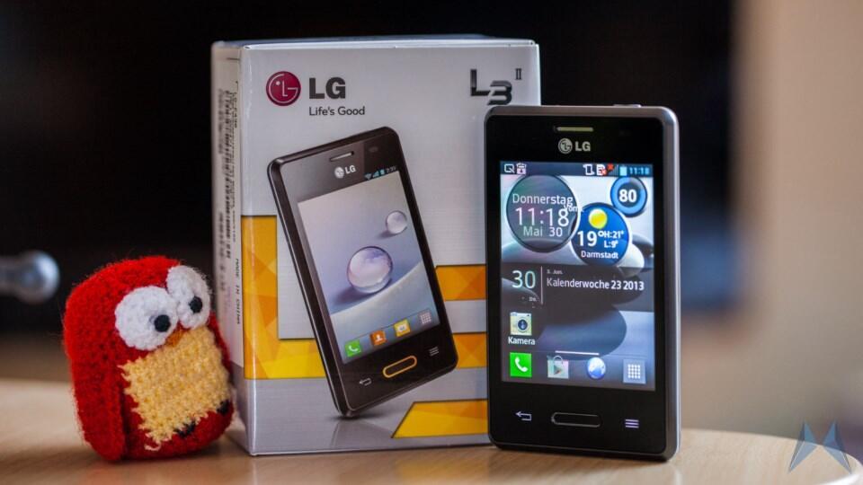 Android einsteiger L-Serie L3 LG