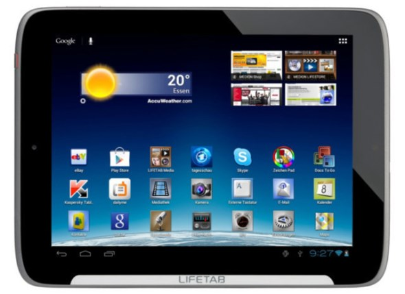 Android deal lifetab medion