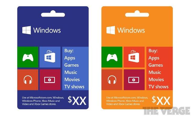 geld Gutschein karte microsoft phone Windows
