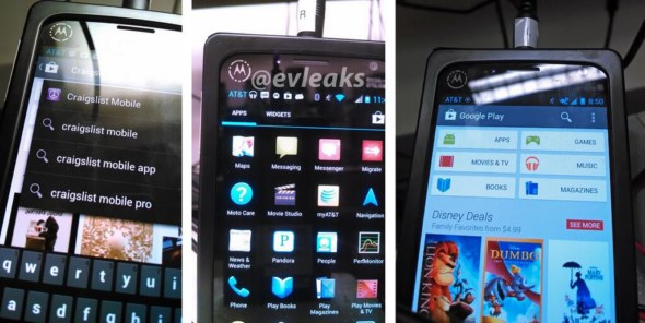Android Leak Motorola x phone