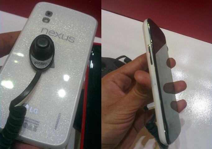 Android Google Leak LG nexus weiß