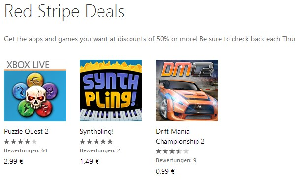 app deal fun Game Spiel Windows Phone
