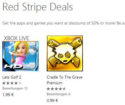 deal red stripe Windows Phone wp