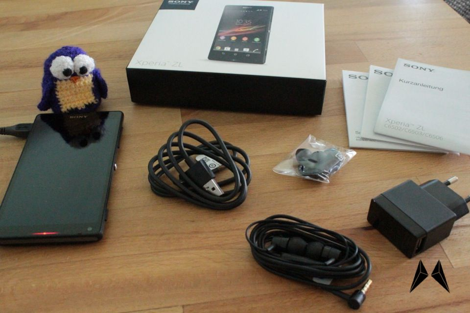 Android Sony Unboxing Xperia