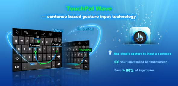 Android apk beta Tastatur TouchPal