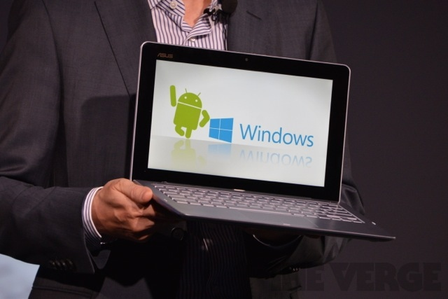 Android Asus Windows