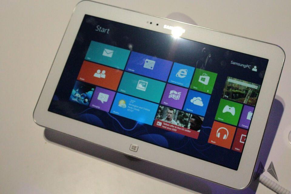 ativ Samsung tablet Windows