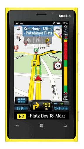 copilot GPS Kostenlos navigation offline Windows Phone