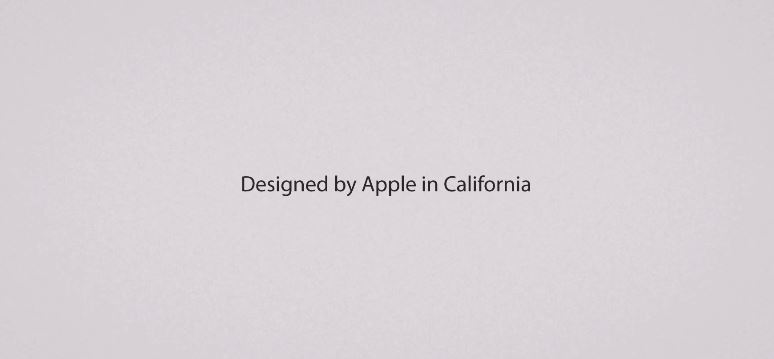 Apple design iOS Video werbung