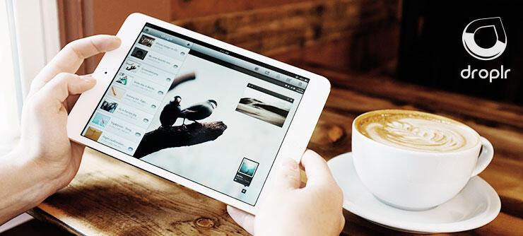 Apple Droplr iOS iPad