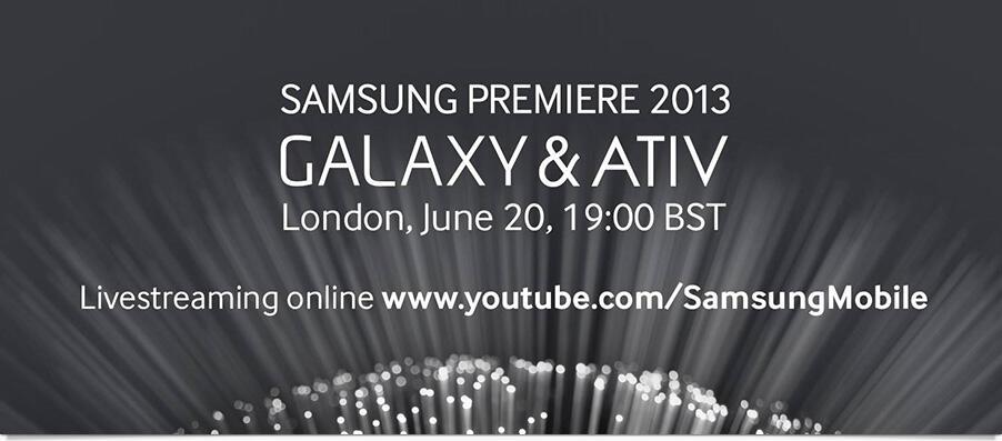 ativ event galaxy Samsung