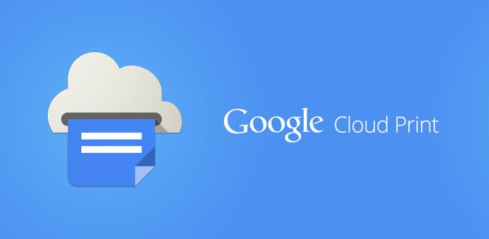 Android app cloud print drucker Google