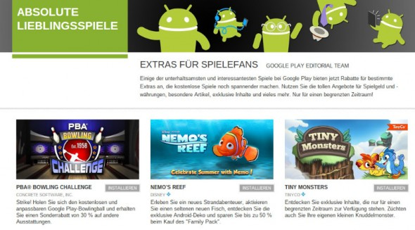 aktion Android games Google google play Spiele